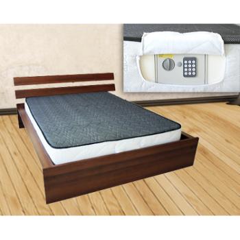 Colchão de Casal Viscoelástico 3D c/ Cofre Electrónico