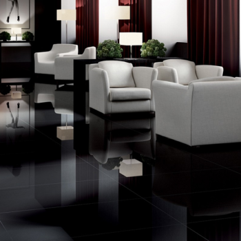 Gres porcelanico – duplo polimento super black M2