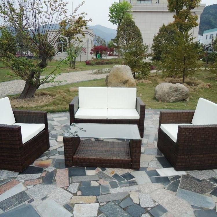 mobiliario jardim rattan : mobiliario jardim rattan: Casa & Jardim Mobiliário & Design Set de Mobília de Jardim em Rattan